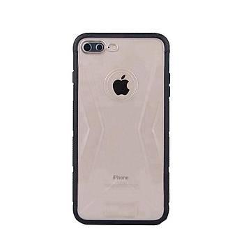 Lito Shockproof TPU Darbeye Dayanýklý iPhone 8 Kýlýf Siyah