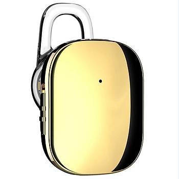 Baseus Encok A02 Serisi Mini Bluetooth Kulaklýk Gold