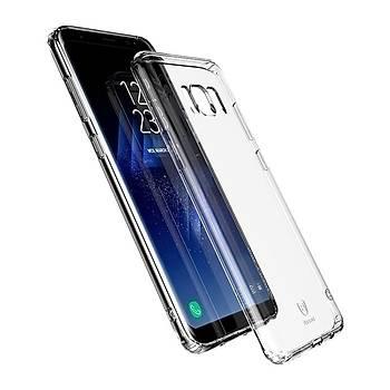 Baseus Samsung Galaxy S8 Plus Simple Serisi Kýlýf Þeffaf