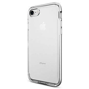 Spigen iPhone 7 / iPhone 8 Neo Hybrid Crystal Kýlýf Satin Silver