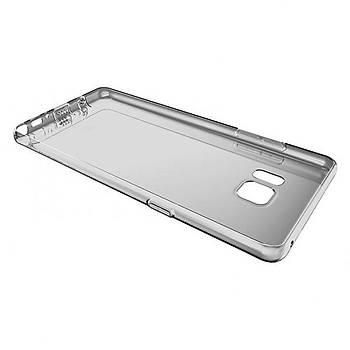 Baseus Air Serisi Samsung Galaxy Note Fan Transparan Kýlýf Siyah