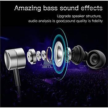 Baseus Encok Wire H04 Serisi Kulakiçi Mikrofonlu Kulaklýk Siyah