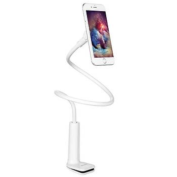 Benks Holder Serisi Magnetic 90cm Klipsli Telefon Tutucu White
