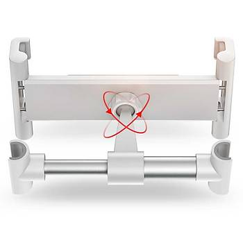 Wiwu PL-901 Araç Ýçi Arka Koltuk Tablet Tutucu Beyaz
