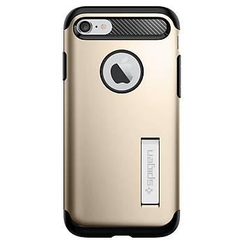 Spigen iPhone 7 / iPhone 8 Slim Armor Kýlýf Champagne Gold
