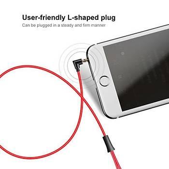 Baseus Encok Wire H07 3.5mm Kulakiçi Mikrofonlu Kulaklýk Kýrmýzý