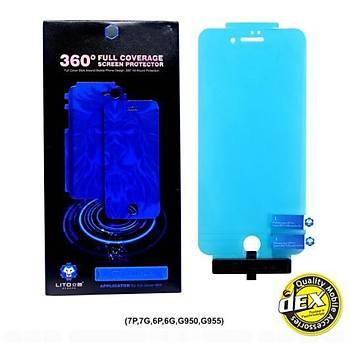 Lito 360 Nano TPU Tam Koruma iPhone 6 / 6S Ekran Koruyucu