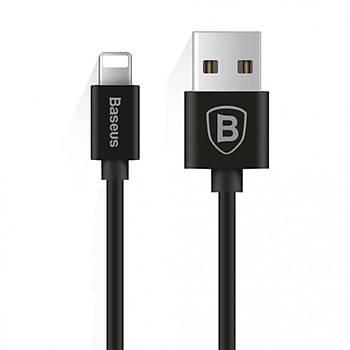 Baseus Elastic Data Lightning iPhone Kablo Siyah