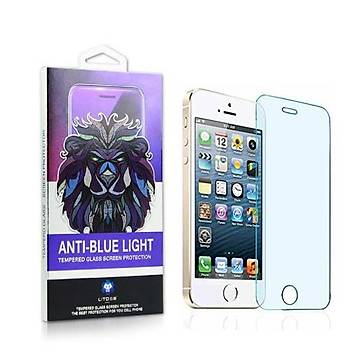 Lito Anti Blue Light iPhone 5 / iPhone 5S Cam Ekran Koruyucu