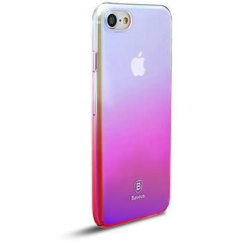 Baseus iPhone 7 / iPhone 8 Glaze Kýlýf Pembe