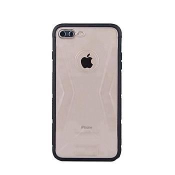 Lito Shockproof TPU Darbeye Dayanýklý iPhone 7 Plus Kýlýf Siyah