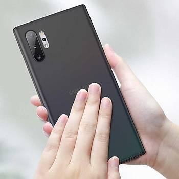 Benks Galaxy Note 10 Plus Lollipop Trasnparan Kýlýf Siyah