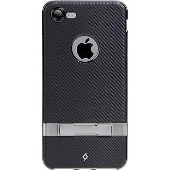 Ttec Evoque Stand Özellikli Apple iPhone 7 / iPhone 8 Kýlýf Füme