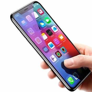 Baseus Full Coverage iPhone XS Max 6.5 Kavisli Cam Ekran Koruyucu