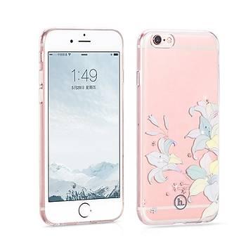 Hoco Juice Serisi iPhone 6 / iPhone 6S TPU Kýlýf Lily Seffaf