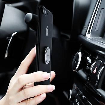 Benks L13 Magic Circle Serisi Telefon Yüzüðü ve Standý Silver