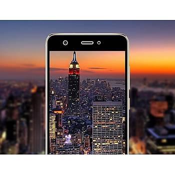 Lito 3D Full Cover Tam Kaplayan Huawei P9 Cam Ön / Siyah