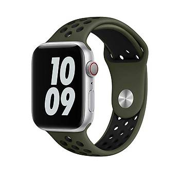 Wiwu Dual Color Sport Band Watch 42-44 MM Uyumlu Silikon Kordon