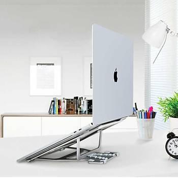 Wiwu S100 Macbook Laptop Standý Yükseltici Aparat Metal Tasarým