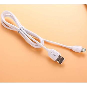 Xipin LX03 Serisi Lightning Usb Þarj ve Data Kablosu 2.2M. 2.1A. Beyaz