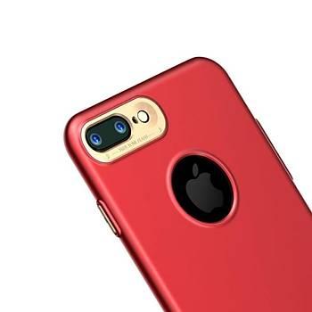 Baseus Simpleds Serisi Apple iPhone 7 Plus Kýlýf Kýrmýzý
