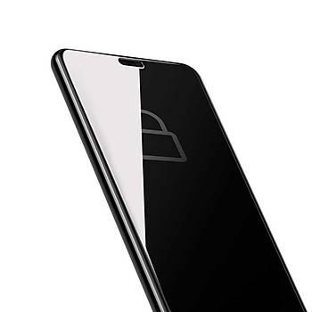 Baseus Huawei P20 Pro 0.3mm Anti-Spy Curved Tamperli Cam Ekran Koruyucu