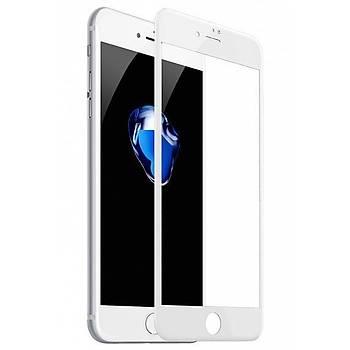 Baseus Silk Screen iPhone 7/8 3D Tam Kaplayan Cam Ekran Koruyucu