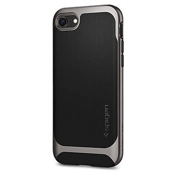 Spigen iPhone 7 / 8 Neo Hybrid Herringbone Serisi Kýlýf Gun Metal