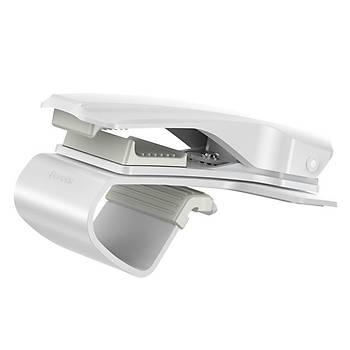 Baseus Mouth Gösterge Üstü Araç Telefonu Tutucu Beyaz