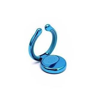 Baseus Elf Ring Telefon Tutucu Yüzük Stand Aparatý Metal Mavi