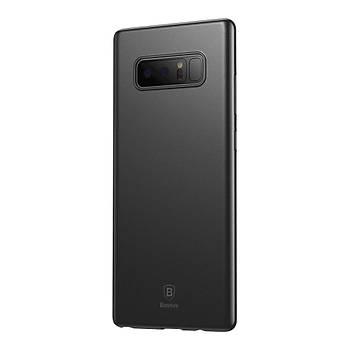 Baseus Samsung Galaxy Note 8 Wing Slikon Kýlýf Siyah