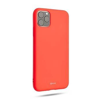 Roar All-Day Jelly Serisi Full Koruma iPhone 11 Pro Max Kýlýf Pink