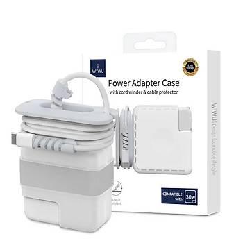 Wiwu Power 30W Adapter ve Þarj Koruma Kýlýfý