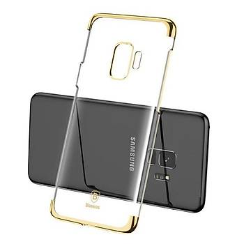 Baseus Glitter Serisi Samsung Galaxy S9 TPU Kýlýf Siyah