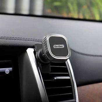 Go Des GD-HD667 Magnetic Car Araç Tutucu Siyah-Beyaz