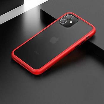 Benks Magic Smooth Serisi Apple iPhone 11 6.1 Kýlýf Red