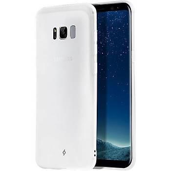 Ttec AirFlex Samsung Galaxy S8 Plus Ultra Ýnce Kýlýf Buzlu Beyaz