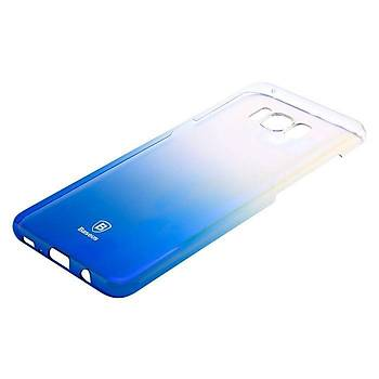 Baseus Samsung Galaxy S8 Plus Glaze Ultra Slim Kýlýf Mavi