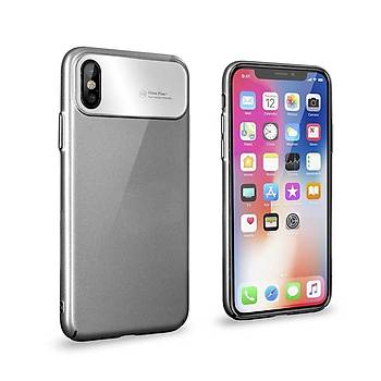 Roar Apple iPhone X/XS 5.8 Air Hard Back Cover Kýlýf Grey