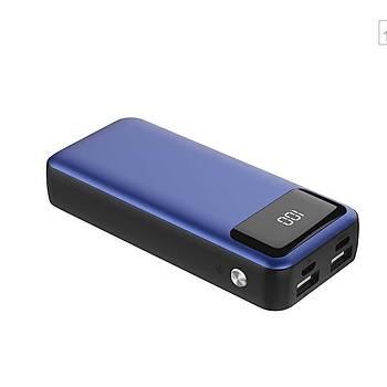 Xipin Powerbank 10.000 Mah Çift USB li IQ Þarj Blue
