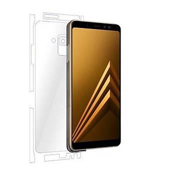 AntDesign Galaxy A8 2018 TPU Arka ve Yan Yüz Koruyucu Film