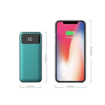 Xipin Powerbank 10.000 Mah Çift USB li IQ Þarj Green