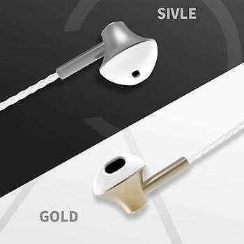 Xipin HX545 Kulak içi Stereo Kulaklýk 3.5 mm Jack Silver