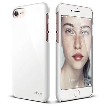 Elago iPhone 7 / iPhone 8 Slim Fit 2 Jean Indigo Kýlýf Beyaz