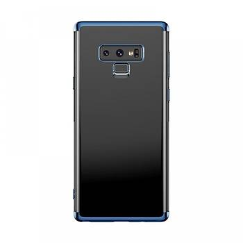 Baseus Glitter Serisi Samsung Galaxy Note 9 TPU Kýlýf Mavi