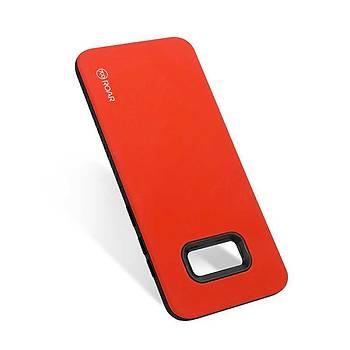 Roar Galaxy S8 Kýlýýf Rico Hybrid Case Red