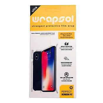 Wrapsol iPhone XS Max 6.5