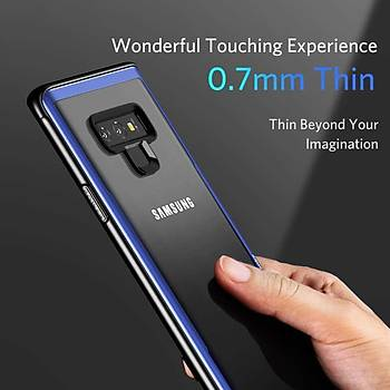 Bensk Magic Shiny Glass Serisi Galaxy Note 9 Kýlýf Siyah