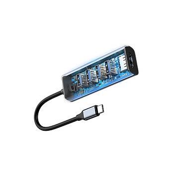Baseus Enjoy Type C Hub Hdmi ve USB 3.0 Dönüþtürücü