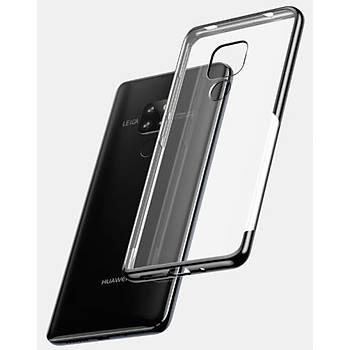 Baseus Shining Huawei Mate 20 Pro Kenar Korumalý Tpu Kýlýf Siyah